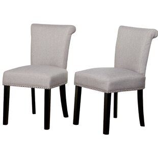 Hubler Upholstered Dining Chair (Set of 2..