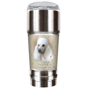 Howard Robinson's Poodle 32 oz. Stainless Steel Travel Tumbler