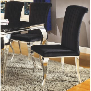 Alexis Upholstered Dining Chair by Rosdorf Park SKU:CD474854 Guide