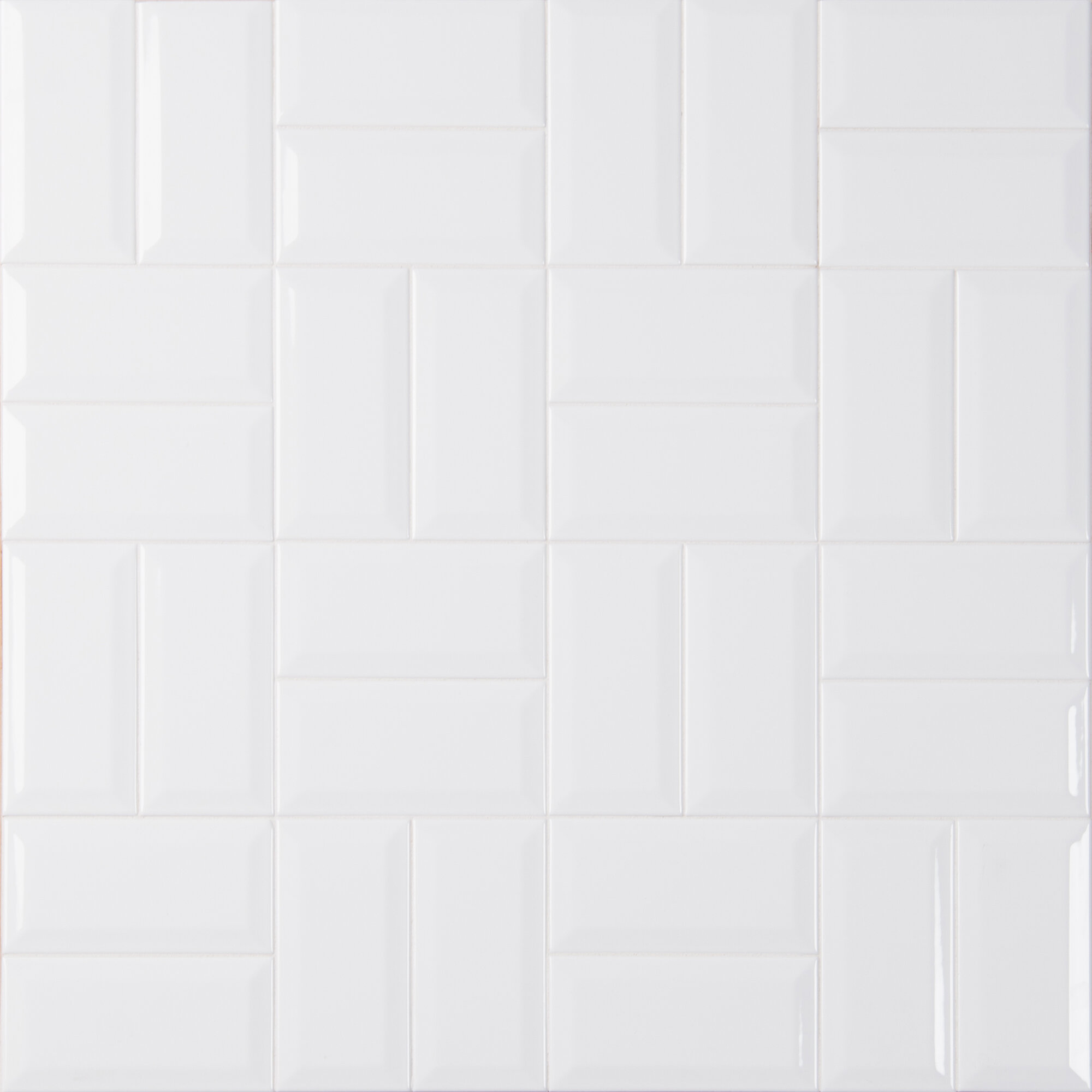 Msi Glossy Beveled 3 X 6 Ceramic Subway Tile In White Reviews