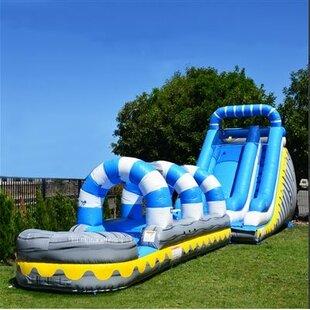 JumpOrange Skyline Slip Inflatable Slide