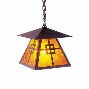 Steel Partners Prairie 1-Light Lantern Pendant