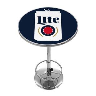 Miller Lite Minimalist Pub Table by Trademark Global