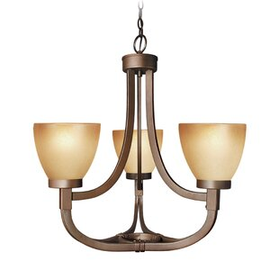 Woodbridge Lighting Wayman 3-Light Chandelier