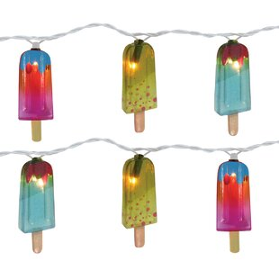 Reviews 10-Light 11 ft. Popsicle String Lights (Set of 2) By Brite Star