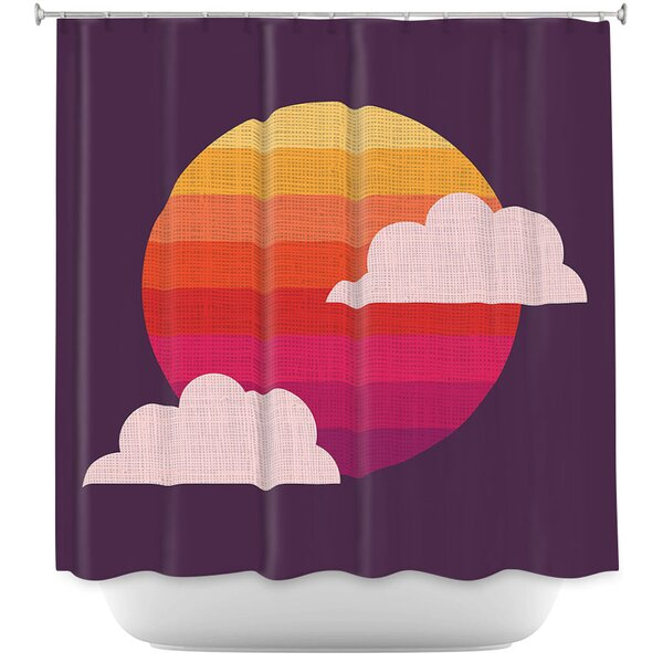 Sunset Shower Curtain Wayfair