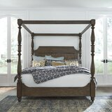 Torben Panel Canopy Bed by Gracie Oaks