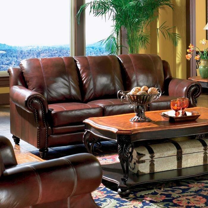 Rosetta Leather Sofa