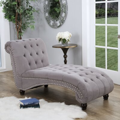 Brighouse Chaise Lounge Everly Quinn