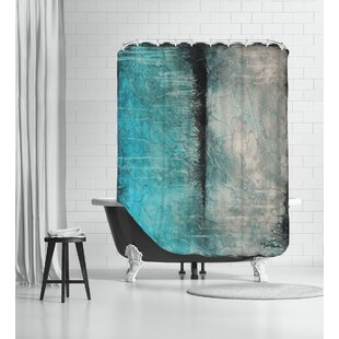 Antarctica Shower Curtain by Americanflat