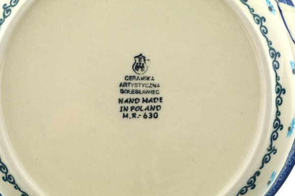 The Holiday Aisle Rowen 0 92 Qt Stoneware Round Pottery Bakers Reviews Wayfair