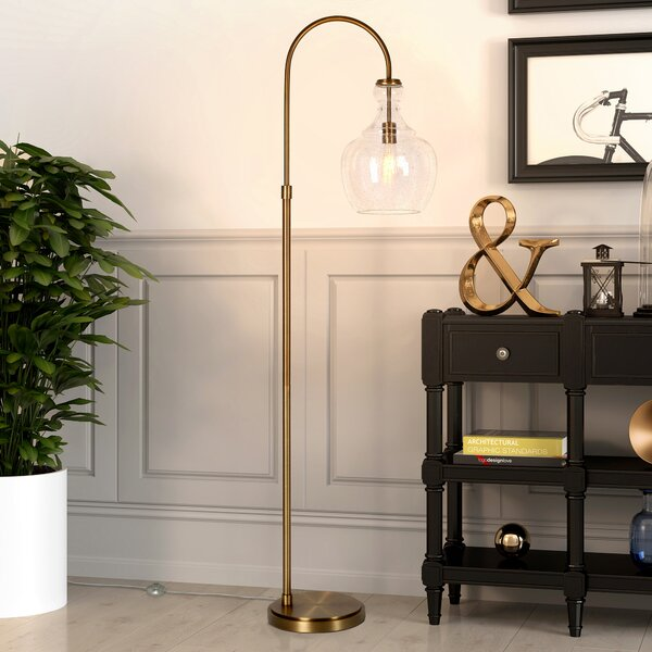 Dayna 70 Arched Floor Lamp by Breakwater Bay