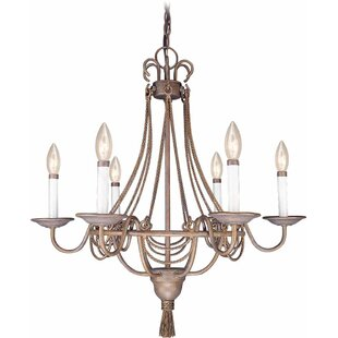 Volume Lighting Kuta 6-Light Chandelier