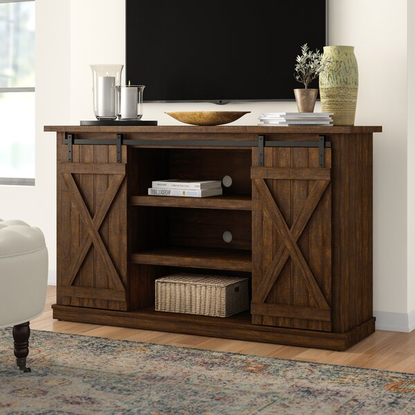new concept c9de3 340df Farm House Tv Stand | Wayfair