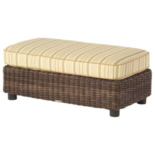 Woodard Sonoma Half Ottoman with Cushion