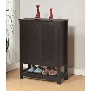 Wooden Entryway Shoe Storage Cabinet By Canora Grey