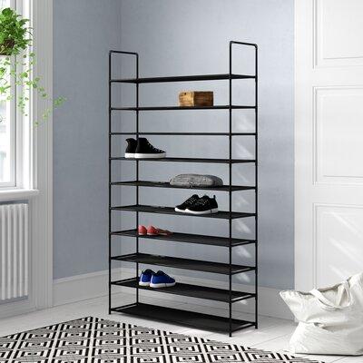 Schuhregal Ilona für 50 Paar Schuhe   Flur & Diele > Schuhschränke und Kommoden > Schuhregal   ClearAmbient