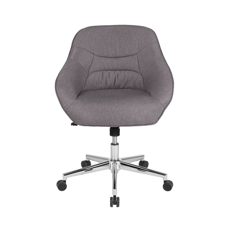 Orren Ellis Dunaway Upholstered Mid Back Task Chair Wayfair