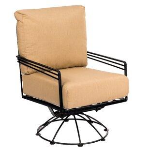Madison Swivel Lounge Rocking Chair by Woodard 2019 Sale