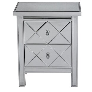 Joanie 2 Drawer Chest by House of Hampton