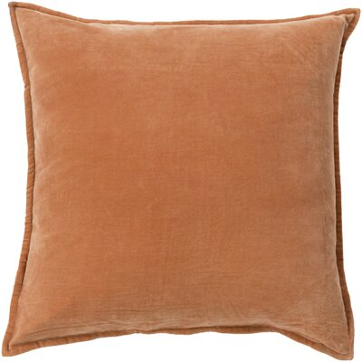 Throw Pillow Cover Color: Burnt Orange
