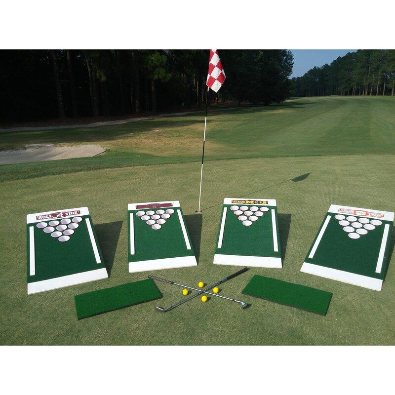 2' x 4' The Original Backyard Games Single Golf Solid Wood Cornhole Board