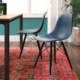 Buy clear Dromore Dining Chair (Set of 2) by Brayden Studio Reviews (2019) & Buyer's Guide
