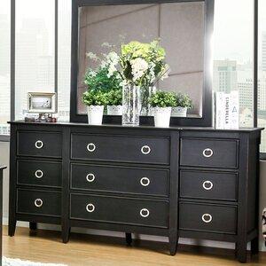 large bedroom dressers. Newstead 9 Drawer Standard Dresser Extra Large Bedroom Dressers  Wayfair