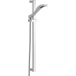 Compare prices Dryden Full Slide Bar Shower Head ByDelta