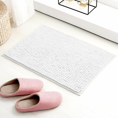 25 Quot 40 Quot White Bath Rugs Amp Mats You Ll Love In 2020 Wayfair