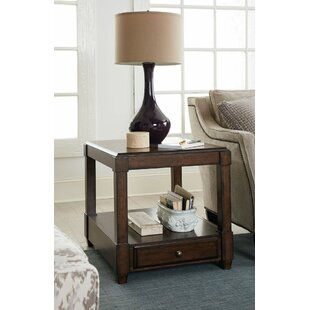 Sonia End Table with Storage by Foundry Select