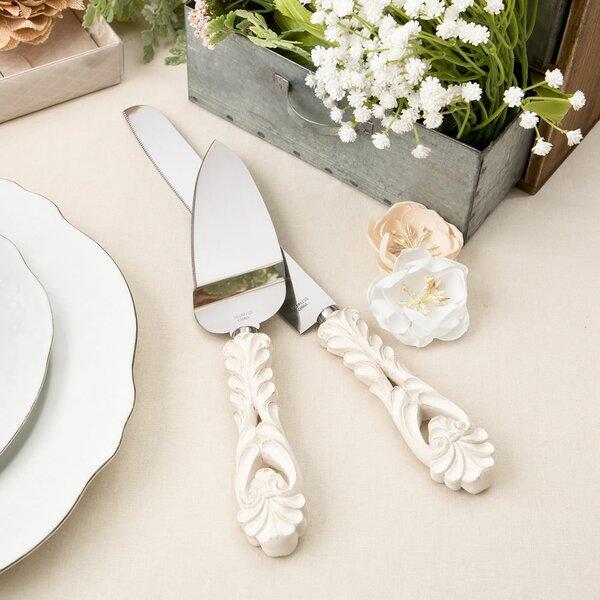 Wedding Cake Cutter Set Wayfair