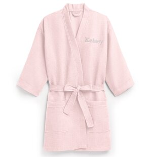 229fcd43c7 Personalized Embroidered Waffle Spa Bathrobe