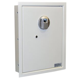 Biometric Lock Wall Safe 0.4 CuFt by Protex Safe Co.
