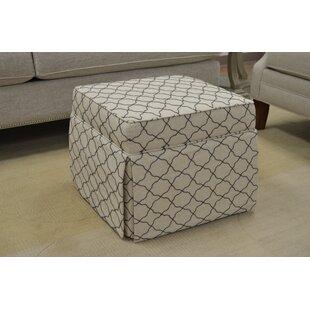 Aquafina Cube Ottoman by Paula Deen Home