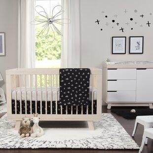 Purchase Tuxedo Monochrome Nursery 5 Piece Crib Bedding Set Bybabyletto