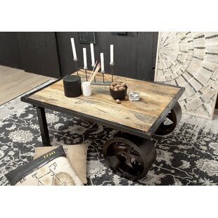Railway Coffee Table By Massivmoebel24