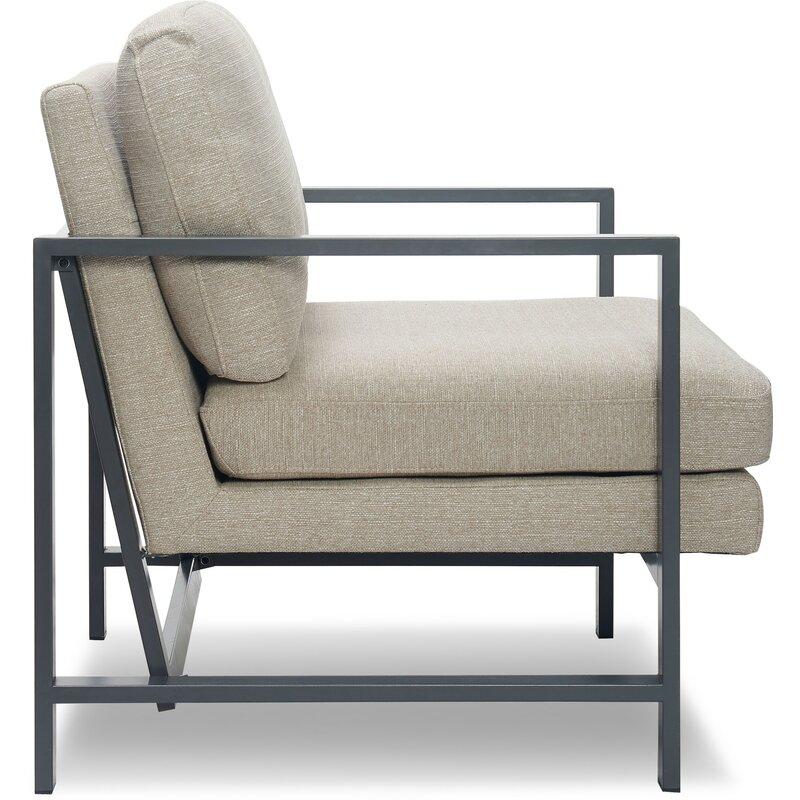 Russell Metal Frame Armchair Allmodern
