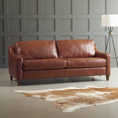 Custom Upholstery Jesper Leather Sofa