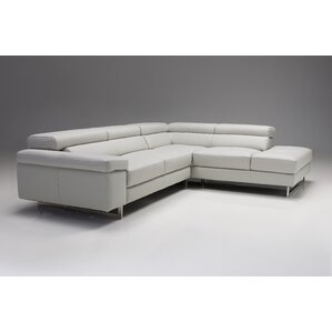 Bradlee Right Side Facing Chaise Top Grain L..