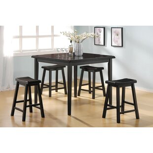 Porterdale 5 Piece Counter Height Dining Set