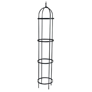 Panacea Rose Tower Steel Obelisk Trellis