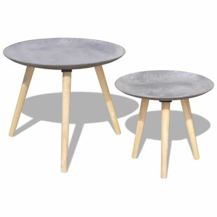 Renate 2 Piece Coffee Table Set by Union Rustic Spacial Price