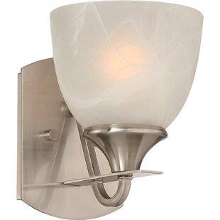 1-Light Bath Sconce by Monument