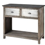 Valmar 38 Solid Wood Console Table by Gracie Oaks