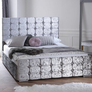 Delgado Chesterfield Upholstered Bed Frame By Rosdorf Park