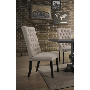 KeeLee Upholstered Dining Chair (Set Of 2) by Darby Home Co No Copoun