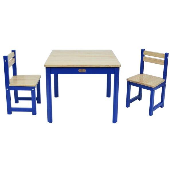 Harriet Bee 3 Tlg Tisch Und Stuhl Set Brinkley
