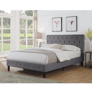 Mercury Row Hankerson Upholstered Platform Bed