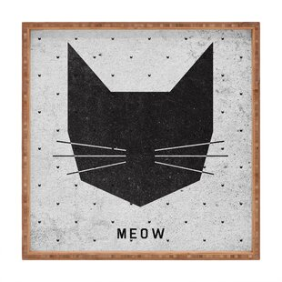 Wesley Bird Meow Accent Tray
